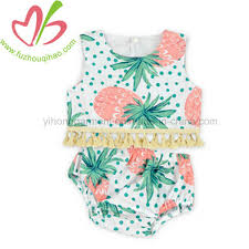China Baby <b>Girl</b> Tropical <b>Pineapple</b> Printed <b>Beachwear</b> - China ...