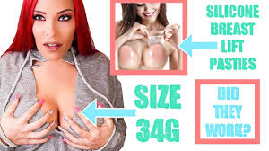 <b>Silicone Breast Lift</b> Pasties for Large Cup Sizes. REVIEW! - YouTube