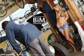 Hayley Marie Coppin works on cars with Body in Mind Your Daily Girl hayley marie043 large