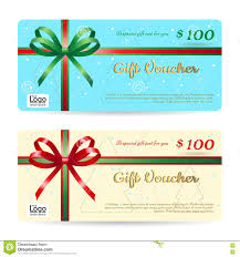 christmas gift card or gift voucher template shiny red and christmas gift card or gift voucher template shiny red and