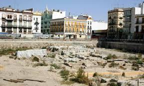 Resultado de imagen de excavacion arqueologica en el solar de la Encarnacion de Sevilla