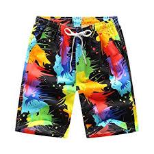 Lixada Men's Shorts Swim Trunks <b>Quick Dry Breathable</b> Beach ...