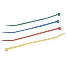 стяжка кабельная 300x4 8 мм 100 шт в асс те - Чижик