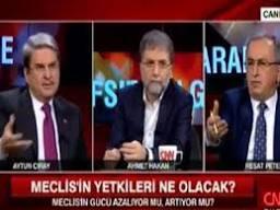 CNN Türk canlı yayınında sabıkalı ve şerefsiz gerginliği