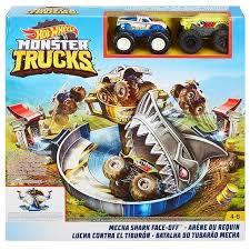 """Купить <b>игровой набор Mattel</b> Hot Wheels Монстр трак """"Поединок ..."""