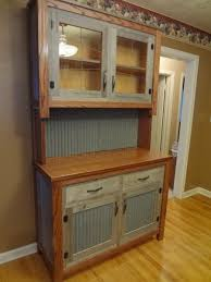 i made this with recycled barn wood and tin from an old homestead barn wood furniture ideas
