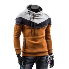 Shop <b>Zogaa</b> New <b>Spring Men's Hoodie</b> Color Matching Pullover ...