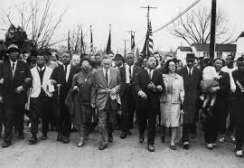 years after bloody sunday see photos of selma then and now 30th 1965 american civil rights campaigner martin luther king 1929 1968