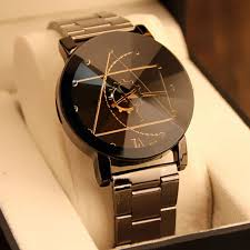Fashion Luxury Stainless Steel Analog NEW <b>Men</b> Women <b>Quartz</b> ...