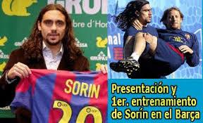 Juan Pablo Sorin: Voy a Voler como D.T. a Barcelona