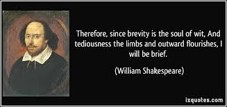brevity is the soul of wit essay brevity is the soul of wit essay