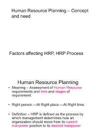 human resource planning concept and need factors affecting hrp hrp human resource planning concept and need factors affecting hrp hrp process l 3 1225376118868825 8