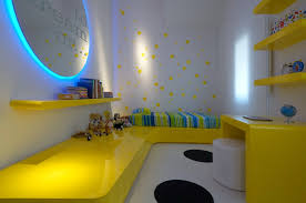 themed kids room designs cool yellow:   yellow blue bedroom