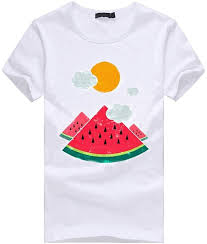 Paintbrushes vermers <b>Summer</b> Casual <b>Print</b> for Funny <b>Short Sleeve</b> ...