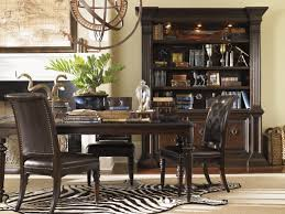 Tommy Bahama Dining Room Furniture Collection Ronde Dining Table Naturalwhite Base Dkor Interiors Kitchen Cart