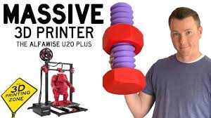 Massive <b>3D Printer</b> with Killer Features - the <b>Alfawise</b> U20 Plus Review