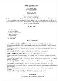 professional lane server resume templates to showcase your talent    resume templates  lane server resume