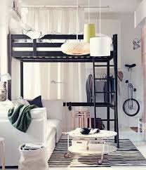 living room with bed:  images about sypialnia w salonie on pinterest studio apartments small apartment interior
