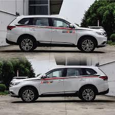 <b>TAIYAO Car Styling Sport</b> Car Sticker For Mitsubishi OUTLANDER ...