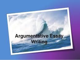 writing an argumentative essayargumentative essay writing