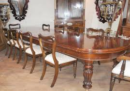victorian mahogany dining table chairs