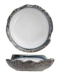 <b>Тарелка</b> глубокая - 22 см, Серая / Белая (Cosy&Trendy) <b>Sea Pearl</b> ...