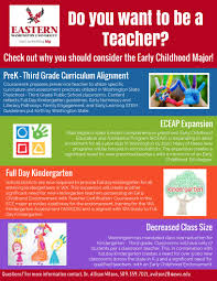 EWU | P3 Teacher Certification with ECE Major