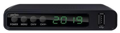 """Купить Приставка <b>DVB</b>-<b>T2</b>/C <b>Perfeo</b> """"STREAM"""" для цифр.TV, Wi-Fi ..."""