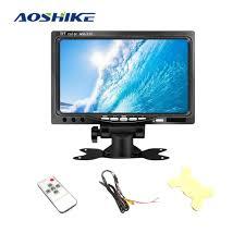 <b>AOSHIKE</b> 7 Inch 12V <b>Car</b> Monitor For Rear View <b>Camera</b> TFT LCD ...