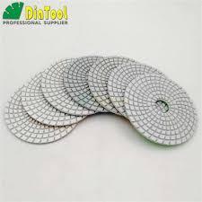 "DIATOOL <b>8pcs</b>/set <b>4</b>"" <b>Diamond Flexible</b> Wet Polishing Pads <b>For</b> ..."
