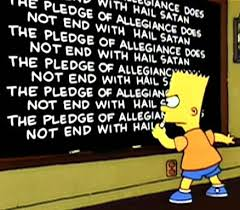 Image result for lines bart simpson