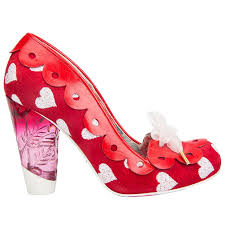 <b>Hearts</b> on the Line <b>Red</b>- Irregular Choice will make you put your ...
