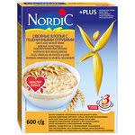 «<b>Хлопья NORDIC</b> (Нордик) <b>4</b> злака с овсяными отрубями, с 12 ...