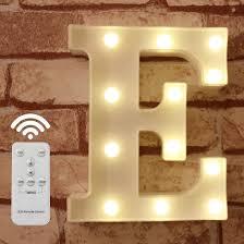 Lamps, Lighting & Ceiling Fans <b>DIY</b> Home Decoration <b>Letter</b> LED ...