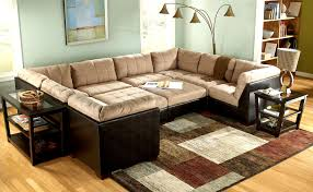 awesome lounge furniture ideas for a cozy family room displaying cheap u shaped sleeper couch with chic cozy living room furniture