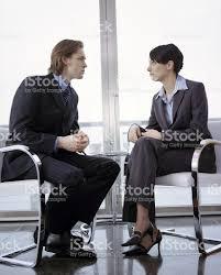 business couple in interview scenario stock photo 183058937 istock business couple in interview scenario royalty stock photo