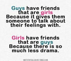 Guy Girl Friendship on Pinterest | Guy Friend Quotes, Quotes About ... via Relatably.com
