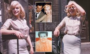 Never-before-seen pictures of pregnant Marilyn Monroe | Daily Mail ...