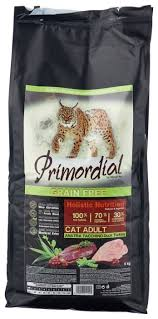 <b>Корм</b> для кошек <b>Primordial Grain</b> Free Cat Adult Duck Turkey 6 кг ...