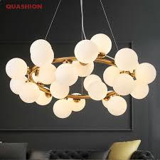 Magic Bean <b>Modern LED Pendant Chandelier</b> Lights For Living ...