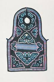 Apron with Tiebu Xiu (Cloth-Patched) <b>Style</b> Needlework - Museum of ...