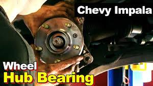 2002 Chevrolet Impala or Monte Carlo Wheel <b>Hub</b> Bearing & <b>Axle Nut</b>