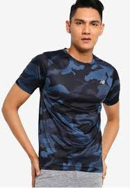 Buy New Balance <b>Printed Accelerate Short</b> Sleeve Tee | ZALORA HK