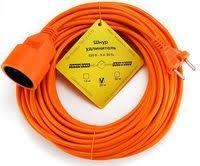 <b>Удлинитель</b> оранжевый <b>20м</b> , 200Дж,2200Вт <b>PowerCube</b> PC-LG1 ...