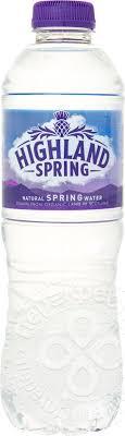 Отзывы о <b>Воде Highland</b> Spring <b>минеральной</b> негазированной ...