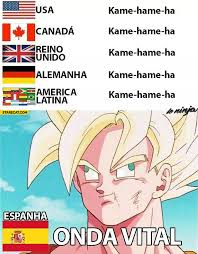 Kame hame ha in Spanish onda vital | StareCat.com via Relatably.com