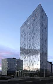 turninn building in iceland beautiful office building