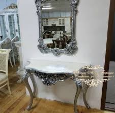Консоль с <b>зеркалом ЗК</b>-<b>02 серебро Мэри</b> мебель в Ставрополе ...