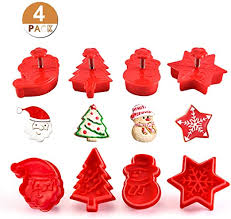 6pcs Stamp Mold Cookies Cutter Biscuit Fondant Baking Mould ...
