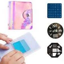 1Pcs 24 Slots <b>Nail Art</b> Stamp Plate Stamping Plates Holder Storage ...